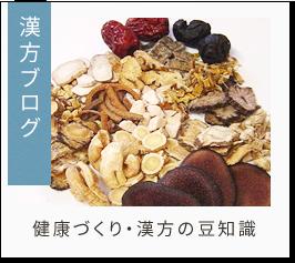 漢方ブログ 健康づくり・漢方の豆知識